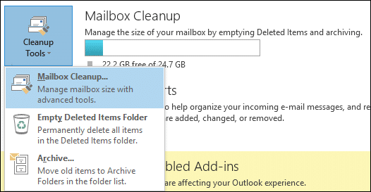 Mailbox Cleanup