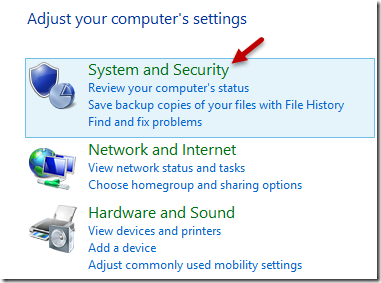 computer settings