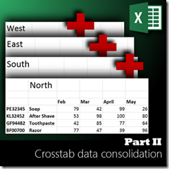 data consolidation using Power Query