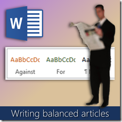 Using Styles in Word