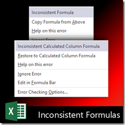How to handle inconsistent formulas in Excel - Dr. Nitin Paranjape