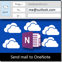 email to OneNote