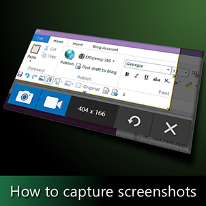capture screenshots