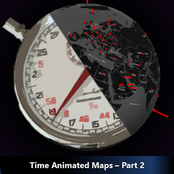 3d map - time animation by Dr. Nitin Paranjape