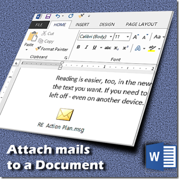 how and why to attach mails to a document - Dr. Nitin Paranjape