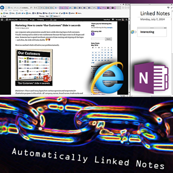 OneNote Linked Notes