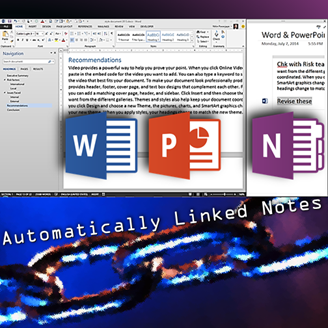 OneNote linked note - Word and PowerPoint by Dr. Nitin Paranjape