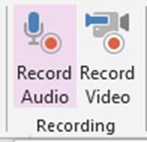 Record Audio in OneNote