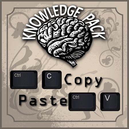Copy Paste Knowledge Pack