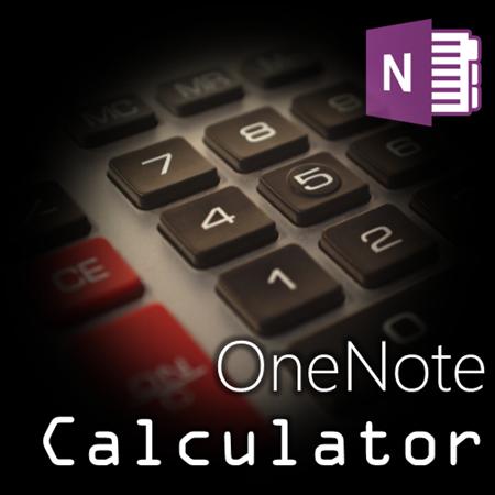 OneNote calculator