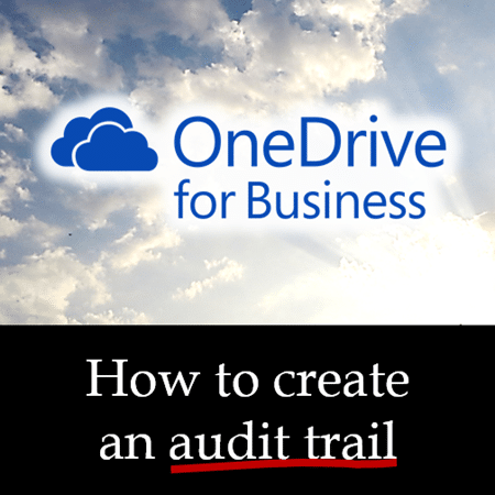 How to create an audit trail ODB