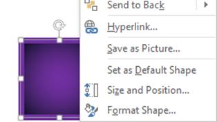 PowerPoint - Set as default shape