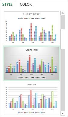 change chart titles