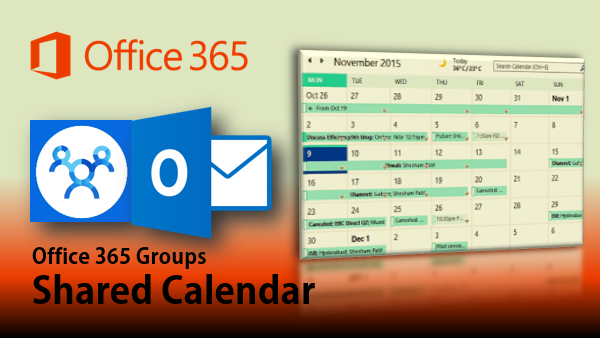 Shared Calendar in Office 365 Groups