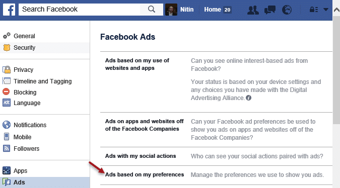 Using Ads to your advantage - settings