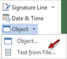 Combine multiple Word documents