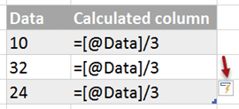 Changed formula is auto-copied