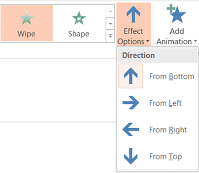 Drop-down Gamification - Wipe