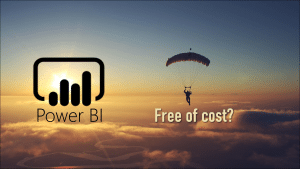 How to use Power BI free of cost