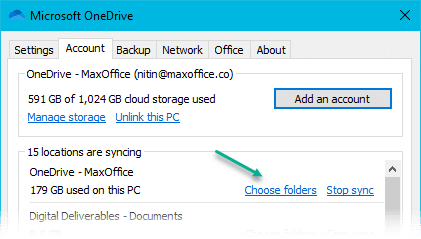 How to Sync Teams files to a PC