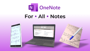 OneNote for all notes