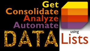 Microsoft Lists to capture data